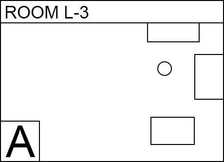 Image, map. Room L(L3). Delivery Service
